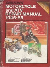 1945-1985 Chiltons Motorcycle & Atv Repair Service Workshop Shop Manual 6359