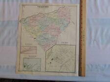 1875 ORANGE COUNTY Crawford Pine Bush Searsville Bullville NEW YORK BEERS MAP