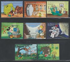 GRENADINES OF ST. VINCENT - DISNEY - CARTOONS - MICKEY'S SCIENTISTS