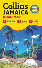 Jamaica Road Map by National Land National Land Agency