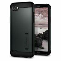 LG Q6 Slim Armor Kickstand Case MILITARY GRADE DROP PROTECTION by Spigen *NEW*