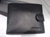 Pierre Cardin RFID Men's Wallet Bi-Fold Genuine Italian Leather - Black or Brown