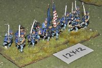 25mm ACW / union - american civil war infantry 14 figures - inf (12412)