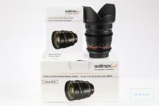 Walimex Pro 16mm T/2.2 VDSLR Objektiv Canon EF-S Lens
