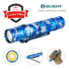 OLIGHT M2R Pro Warrior 1800Lms Ocean Camouflage with 21700 Tactical Flashlight