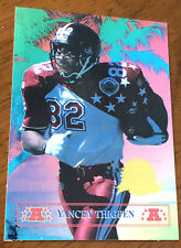 1996 Collector's Edge Presidents Reserve #12 Yancey Thigpen Pro Bowl /7500 Rare
