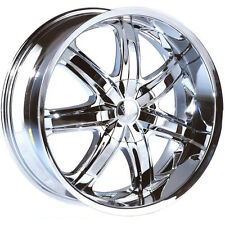 (4) FOUR 26'' BENTCHI B7 26X10+13 5X115+5X120.65 CHROME DENALI DODGE CHEVY NEW