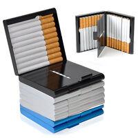 NEU Zigarettenetui Etui Box Zigarettendose Metall für 20 Zigaretten TOP