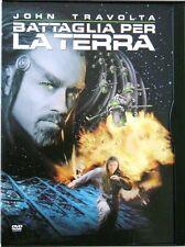 Dvd Battaglia per la Terra - ed Snapper con John Travolta 2000 Usato