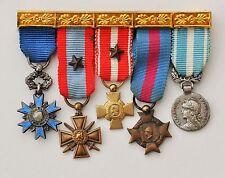 barrette de 5 réductions Ordre National du Mérite