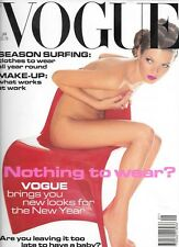 1995 KATE Moss VOGUE magazine Nick Knight Panton chair cover 90s fashion & style