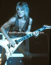"Randy Rhoads 8""x10"" Color Photo with Blue Lighting"