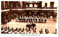 CS24. Vintage Postcard. Changing of the Guard. Whitehall, London