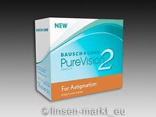 PureVision 2HD for Astigmatism (Toric)  1×6 Stück - Neu&OVP