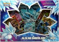 Alolan Sandslash GX Box Collection Pokemon TCG Trading Card Game Sun & Moon