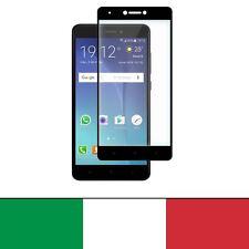 Pellicola Vetro Temperato Per Xiaomi Redmi Note 4X Nero 100% Completo New