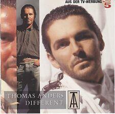 Thomas Anders (Modern Talking) - Different RARE orig. CD Teldec Press NM