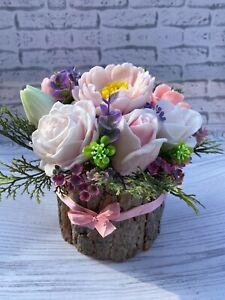 Bouquet des fleurs en Savon