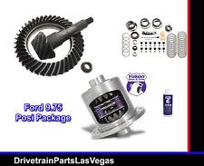 "Yukon Duragrip Ford 9.75"" Posi Positraction Ring Pinion 4.56 Master Install Kit"