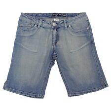Roxy UNFORGIVEN Denim Shorts Faded Indigo Blue Size 12 AU Womens Long Shorts