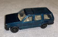 Maisto Ford Explorer Dark Green Die-Cast Suv 1:64 Scale No Box