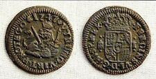 Fernando VI. 1 Maravedi. 1747. Segovia. VF+/MBC+. Cobre 1 g. Escasa