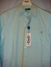 NWT SLeeK D&G Dolce & Gabbana Mint color shirt ITALY Size 48 US Slim M Orig $298