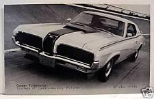 Mercury Cougar Eliminator Sports Car Old Vending Card