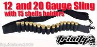 MOSSBERG 500 Bandolier sling, 12 Gauge 15RD Sling bandolier,accessories 12 gauge