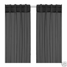 New SARITA Pair of curtains (black)