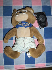 Harley Davidson Bean Bag Plush Spike Dog   6 5/8 Inch High Wear to Hang Tag