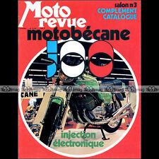 MOTO REVUE N°2142 MOTOBECANE 500 HERCULES WANKEL BMW R 60 BENELLI 750 SEI 1973