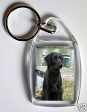 Flatcoated Retriever Key Ring By Starprint - No 2