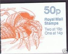 Gb 1989 Fb 54 Marine Life Booklet
