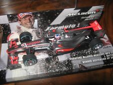1:43 McLaren Mercedes mp4/25 J. Button winner Australian GP L.E. 530104311 OVP