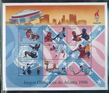 OLYMPIC GAMES 1996 ATLANTA Mini Sheet of 9 #2174 MNH Nicaragu E27