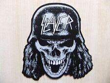 Slayer - Wehrmacht Skull Cut Out - Aufnäher - Patch - Metallica - Overkill
