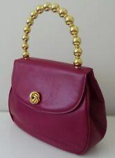 BON GENIE Les Boutiques GRIEDER vintage fuchsia evening Handbag