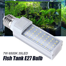 UEETEK 7W E27 35 LED Fish Tank Aquarium Lamp Light Bulb for Replacement Lighting