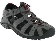 Hombre PDQ punta cerrada deporte sandalias Números UK 4-12 senderismo gris M040f 41