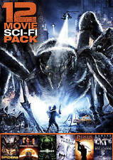 12 Movie Sci-Fi Pack (DVD, 2015)