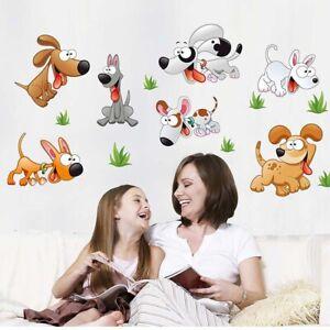 3D Removable Wall Sticker Cartoon 7 Dog's Wall Sticker Children's Bedroom