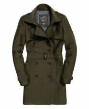 Superdry women's Belle trench coat  SIZE M RRP £ 99.99