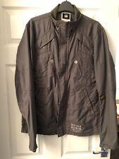 G-Star Raw 3301 Recolite Laundry Overshirt Jacket Grey Size Large L
