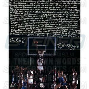 Elvin Hayes Rockets Signed 16'' x 20'' Block Photo & In Their Own Words' Insc