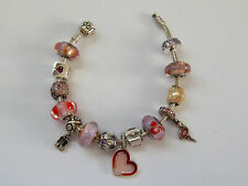 CHOICE of AUTHENTIC Pre-Owned PANDORA  Pink/Purple  CHARMS. Most Retired