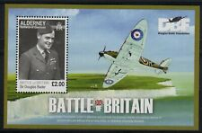 Alderney 2010 Battle of Britain min. sheet fine fresh MNH