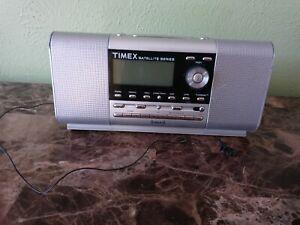 Timex XM Satellite Series Alarm Clock Radio Silver TMX1A