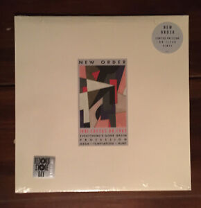 NEW ORDER RSD Vinyl LP 1981-1982 FACTUS 8R 2014 Clear Color New/Sealed
