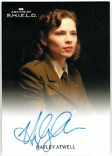 MARVEL: AGENTS OF SHIELD SEASON 2 HAYLEY ATWELL AGENT PEGGY CARTER AUTOGRAPH EL